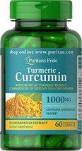 Puritan's Pride Turmeric Curcumin 1000 Mg W/Bioperine Capsules, 60 Count - $6.92