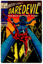 Daredevil 48 FVF 7.0 Marvel 1969 Stan Lee Gene Colan Stiltman - $34.65