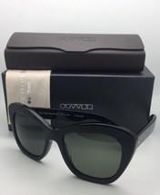 Oliver Peoples Polarized Sunglasses Emmy Ov 5272-S-U 1005/9A Black Cat Eye w/G15 - $319.95