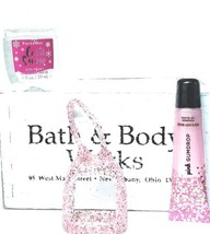 Bath and Body Works  PINK GUMDROP  Shimmer Lip Gloss, Pocketbac & Pink H... - $21.29