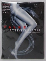 FALKE Active Support Tights Semi-Opaque Black Size Small - $19.75