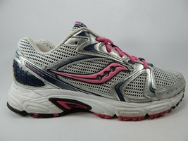 Saucony Oasis 2 Size 9 M (B) EU 40.5 Women's Running Shoes Silver Pink S15269-1