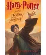 Harry Potter And The Deathly Hallows J.K. Rowling 2007 1st Edition Hardc... - $19.79