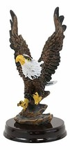 Ebros American Pride Swooping Bald Eagle with Spread Out Wings by Rocky ... - $14.99