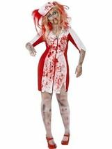 Courbure Zombie Déguisement Infirmière, UK 20-22, Halloween Alley - $29.88