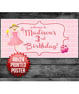 Pinkalicious Custom Personalized Birthday Party Banner Decoration Backdrop - $22.28