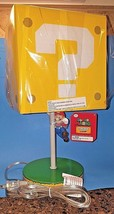 "Super Mario Bros Question Mark Block Lamp ThinkGeek 14"" Light Brothers Nintendo - $63.36"