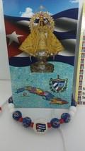 Pulsera de la Bandera de Cuba/Cuban flag bracelet with crosses adjustable - $5.00