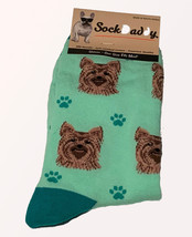 Yorkie Socks Unisex Dog Cotton/Poly One size fits most - $11.99