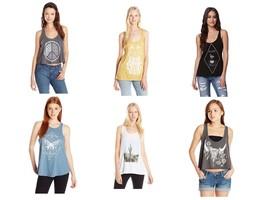 O'Neill Junior Women's Tank Top Graphic Tee Shirt T-Shirt Licensed NEW