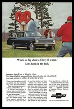 Chevrolet Chevy II Wagon 1965 Vintage Auto Automobile Paul Bunyan Babe Art AD - $9.99