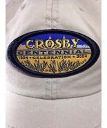 Crosby Centennial Celebration 2004 Ball Hat Cap Beige Adjustable - $9.49