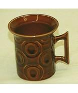 Portmeirion Brown Jupiter Coffee Cup Mug Susan Williams Ellis England Vi... - $21.77