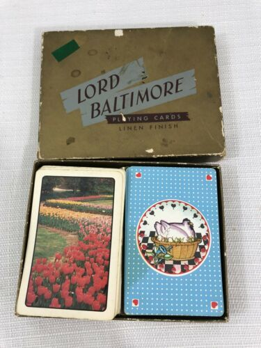 Primary image for Lord Baltimore Playing cards