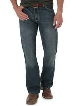 Wrangler Men's Retro Slim Boot Jeans,77MWZBB , Banjo Blue, Size 30X32 - $49.49