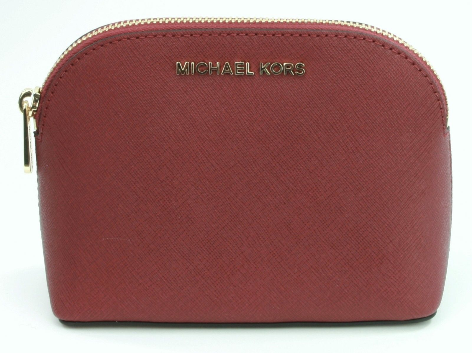 Michael Kors Emmy Make Up Bag Case Cherry and 50 similar items