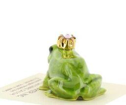 Birthstone Frog Prince June Simulated Alexandrite Miniatures by Hagen-Renaker image 3
