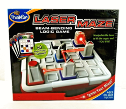 Laser Maze Beam Bending Logic Game Think Fun New Sealed - $19.75