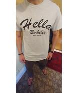 HELLA BERKELEY CLOTHING™ MEN'S LIGHT GRAY HERO TEE.  - $16.99+