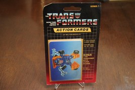 Vintage 1985 G1 Huffer Sealed Pack Transformers Action Figures Trading C... - $19.79