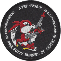 A Troop 1-230th Air Cavalry Squadron Patch - Gunzablazin Ballzahangin - Fink Fuz - $11.87