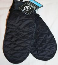 Isotoner Signature S/M SmarTouch Tech Black SleekHeat Packable Ski Mitte... - $13.81