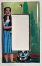 Wizard of Oz Tin Man Dorothy Gale Switch Outlet wall Cover Plate Home Decor image 3