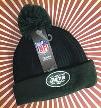 NY Jets Youth Boys OS Hat Winter Toboggan Knit Warm NFL Football Team B28-6 - $11.99