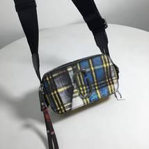 Marc Jacobs Metallic Snapshot Small Camera Bag Crossbody Bag Tartan Blue... - ₨17,998.10 INR
