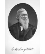 CORNELIUS LONGSTREET New York Cloth Merchant- SUPERB Portrait 1877 Antiq... - $19.80