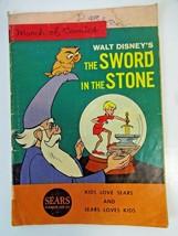 March of Comics The Sword in the Stone Fun Sears 1963 Promo Comic Walt Disney - $21.11