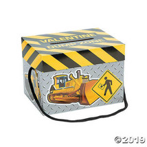 Valentine Exchange Construction Card Box, Set of 12 - $8.09