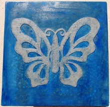 "Butterfly Stepping Stone Concrete Mold 18x18x2"" Make for $3 Each Ships Fast Free image 1"