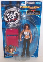 "New! 2001 Jakk's Pacific Rebellion Series #4 ""Lita"" Action Figure WWF WW... - $28.70"