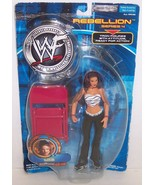 "New! 2001 Jakk's Pacific Rebellion Series #4 ""Lita"" Action Figure WWF WW... - $28.70"