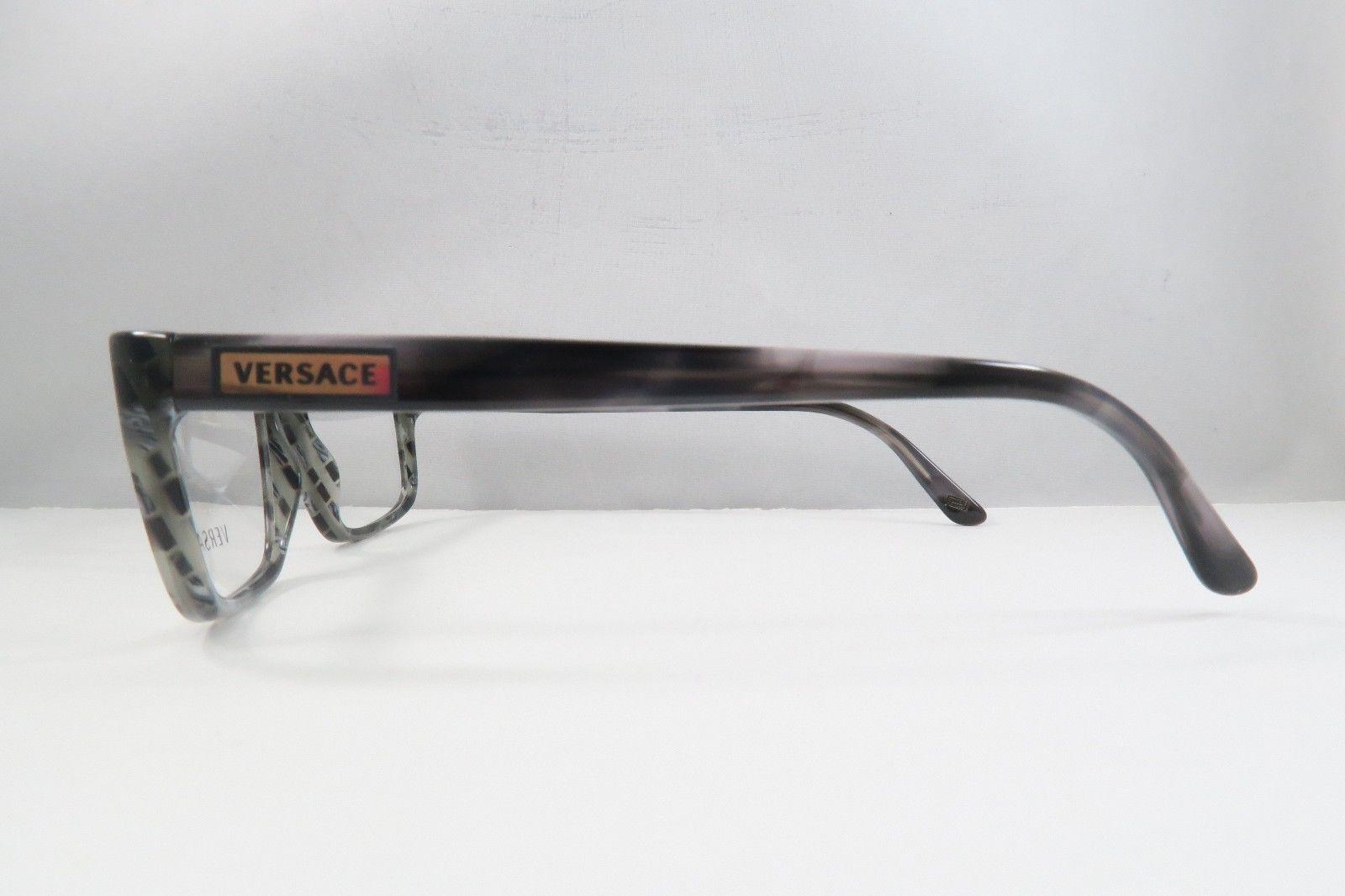 e121d69ed0e Versace MOD 3154 939 Grey   Brown Marble New Eyeglasses 52mm - 104
