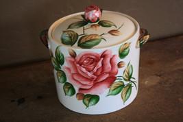 Hard To Find Lefton Americana Rose Cookie Jar - $350.00