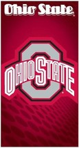 Ohio State University Buckeyes Cotton Bath Pool Beach Towel 28x58 Licensed - $18.53