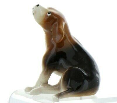 Hagen Renaker Pedigree Dog Beagle Large Ceramic Figurine