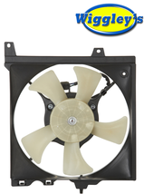 RADIATOR FAN ASSEMBLY NI3115128 L/H FOR 95-00 NISSAN 95-98 SENTRA 200SX image 1