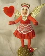 Vintage Inspired Spun Cotton Valentine Angel no. 140A image 1