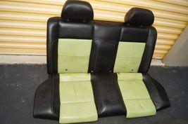 00-04 Volkswagen Vw Beetle Bug Hatchback Turbo GLS Leather Seat Set Green & BLK image 3