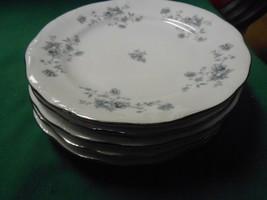Beautiful Collectible Johann Haviland Bavaria Blue GARLAND-Set Of 5 Bread Plates - $22.58