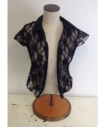 NEW NWT Jones + Jones LF Stores Designer Sheer Floral Lace Vest Top $138... - $22.00