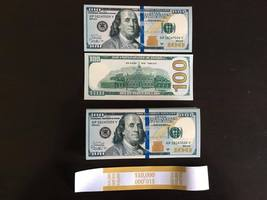 10.000 PROP MONEY REPLICA 100s New Style All full Print For movie Video Etc. - $22.99