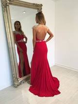 Backless Beading Charming Made Prom Dresses Long Evening Dresses Prom Dresses  - $165.00