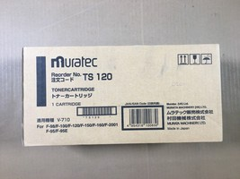 Genuine Muratec TS120 Toner Cartridge Black For F-98/F-100/ - Same Day S... - $31.68