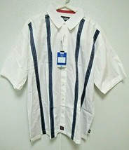 NBA Detroit Pistons White Button Up Dress Shirt by Headmaster Designer L... - $39.99