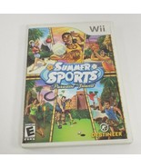 Summer Sports Paradise Island Nintendo Wii Game w/ Manual 4 Players - $5.94
