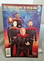Star Trek Generations Comic Book Issue #1A DC 1994 - $3.99
